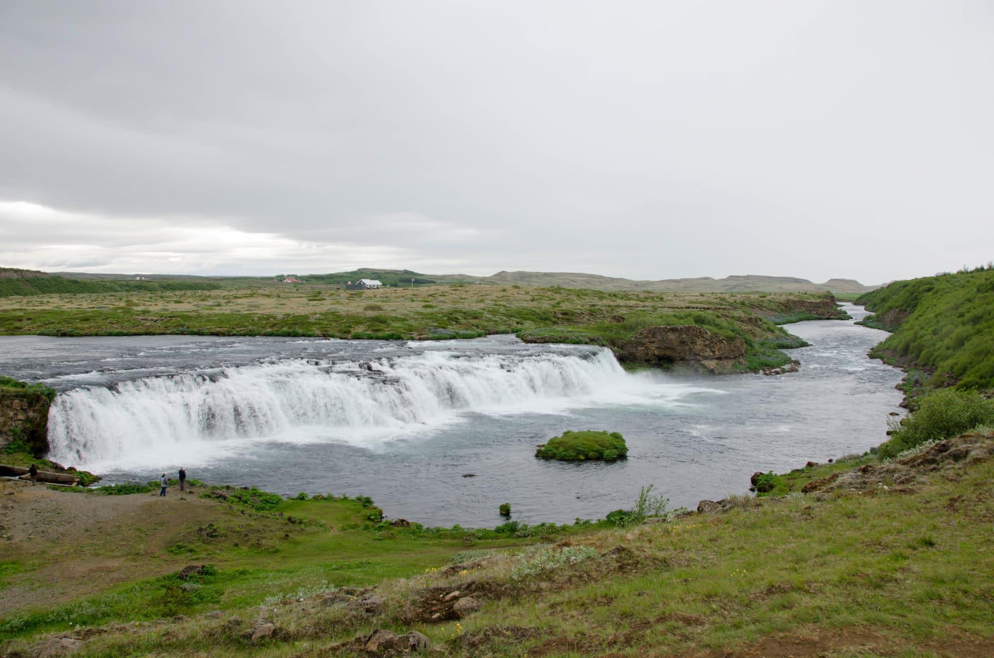 Waterfall at Faxi Iceland | Umami Girl