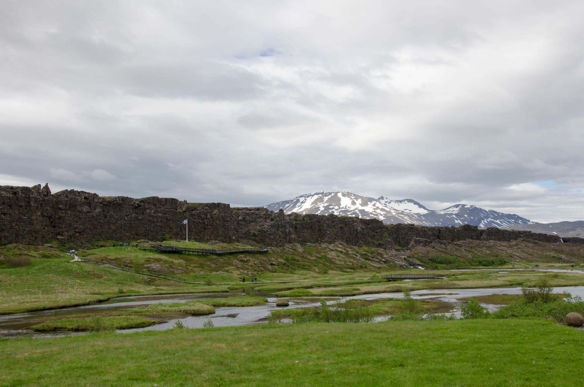 Thingvellir Naitonal Park Landscape Iceland | Umami Girl