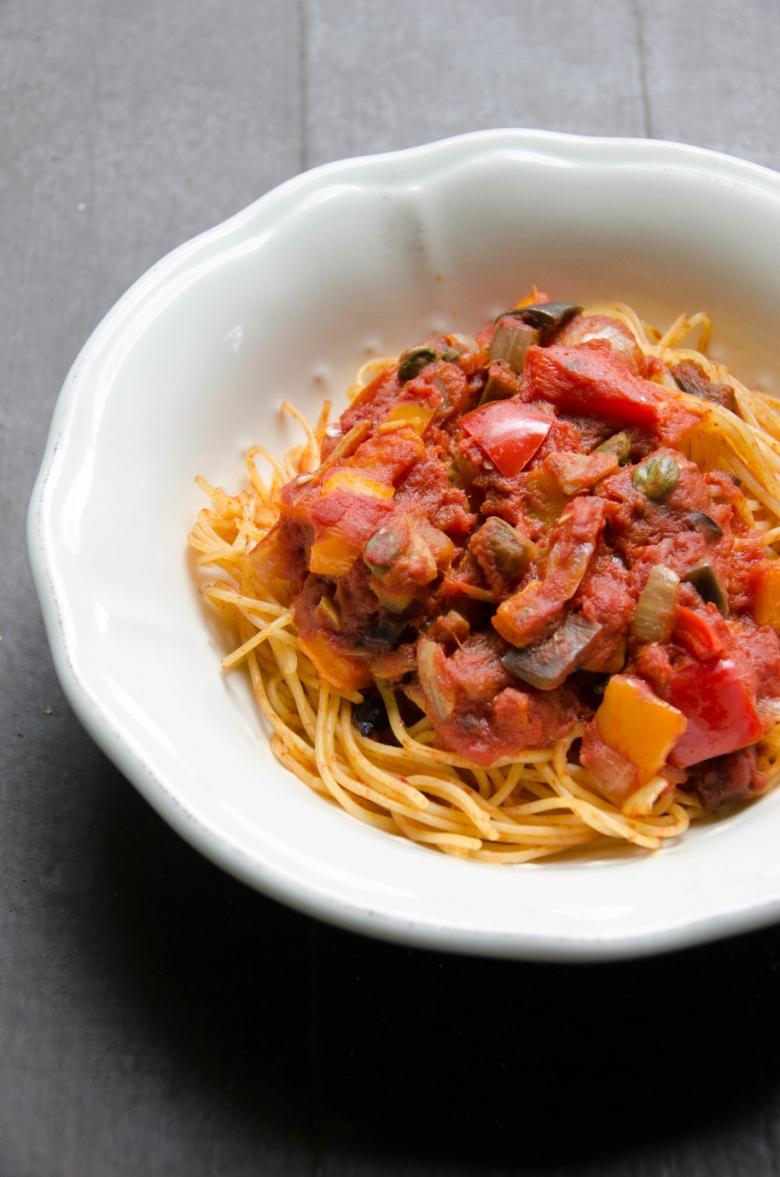 Jersey Girl Spaghetti | Umami Girl