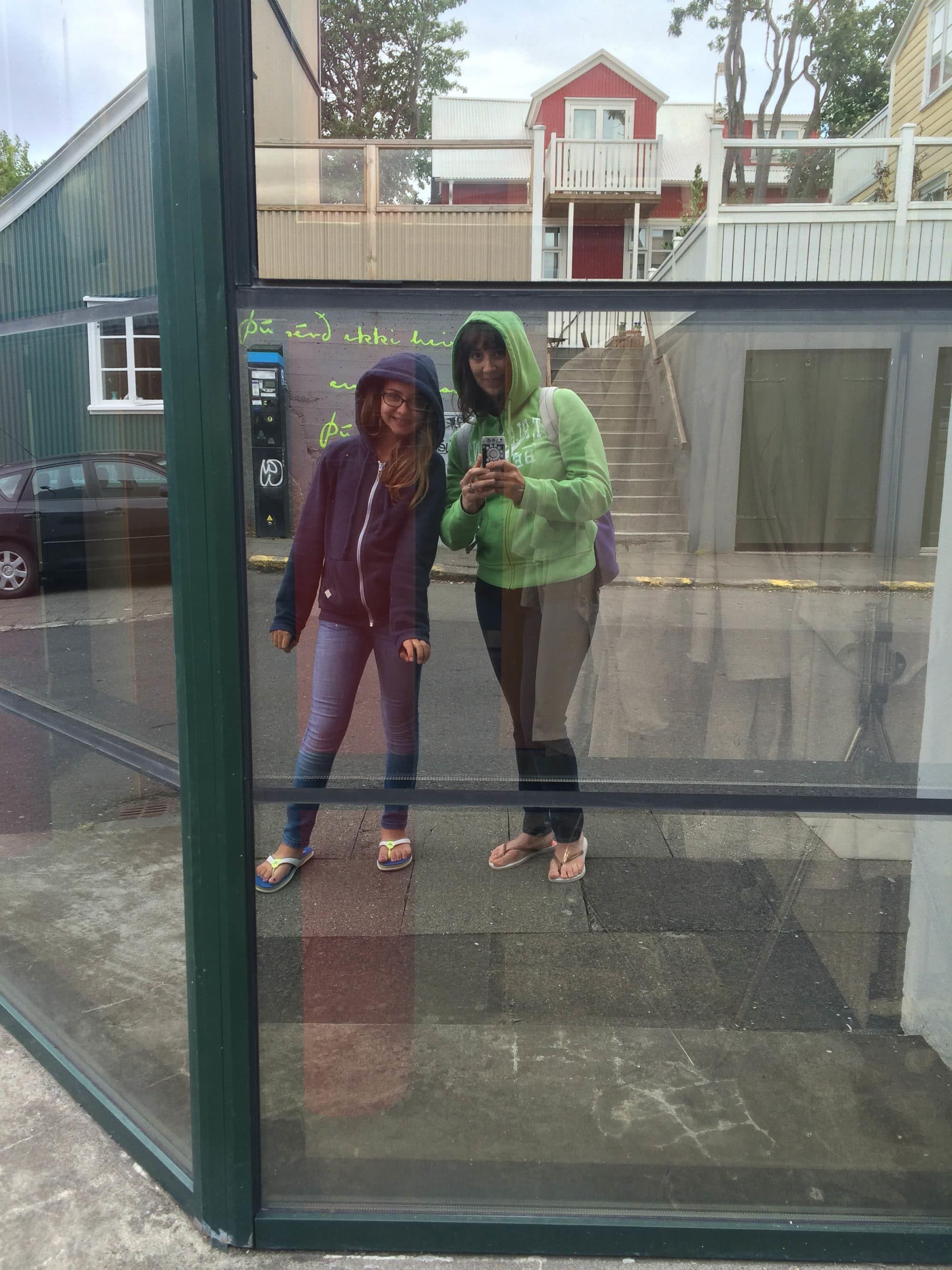 Reykjavik Iceland Reflection | Umami Girl