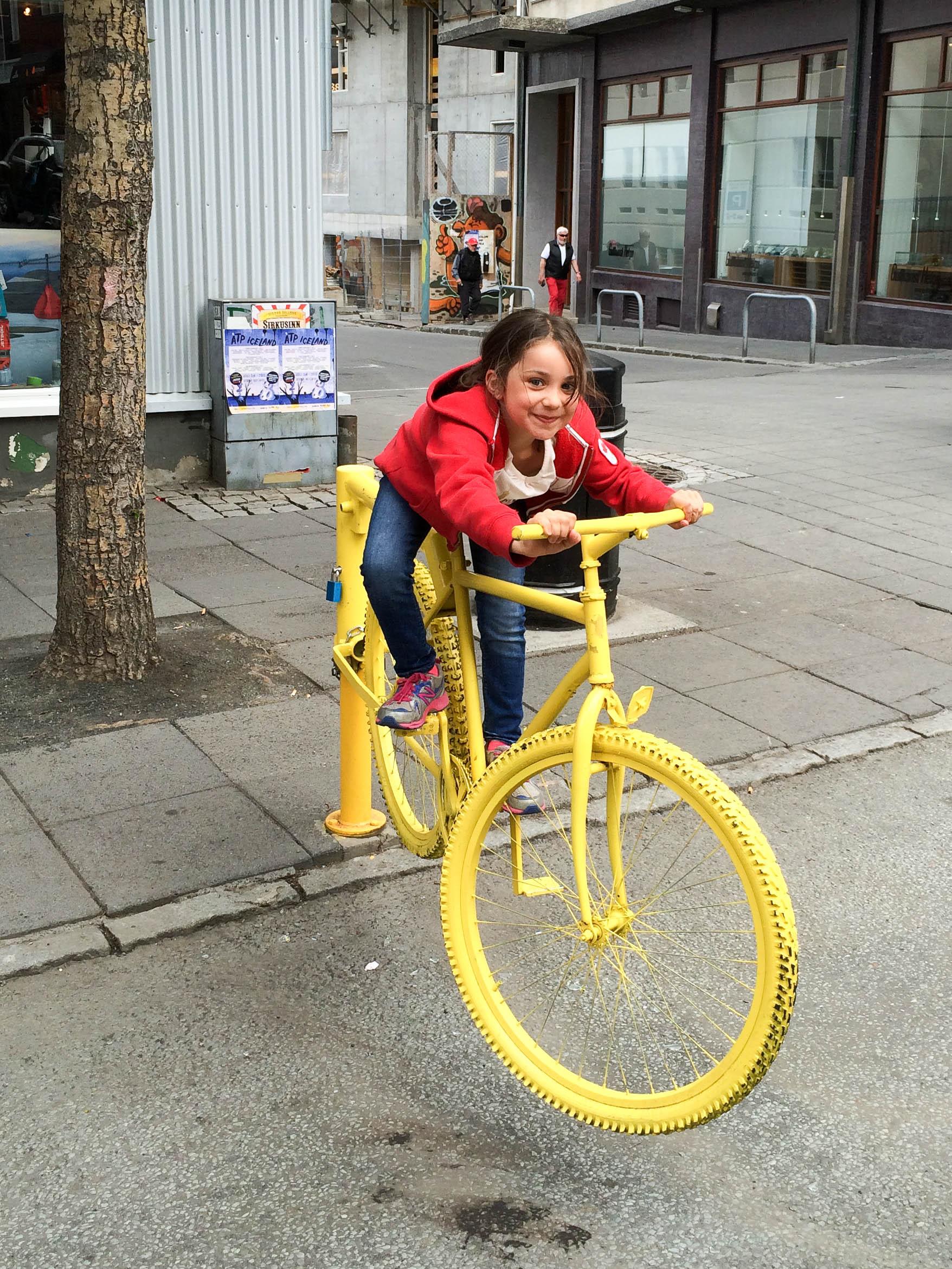 Reykjavik Iceland Bike | Umami Girl