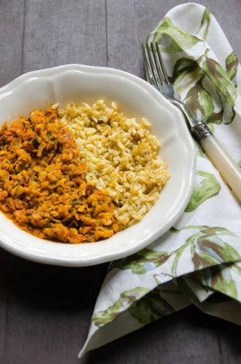 Red Lentils with Coconut Milk and Warming Spices