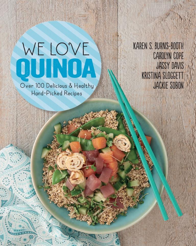 We Love Quinoa UK Cover