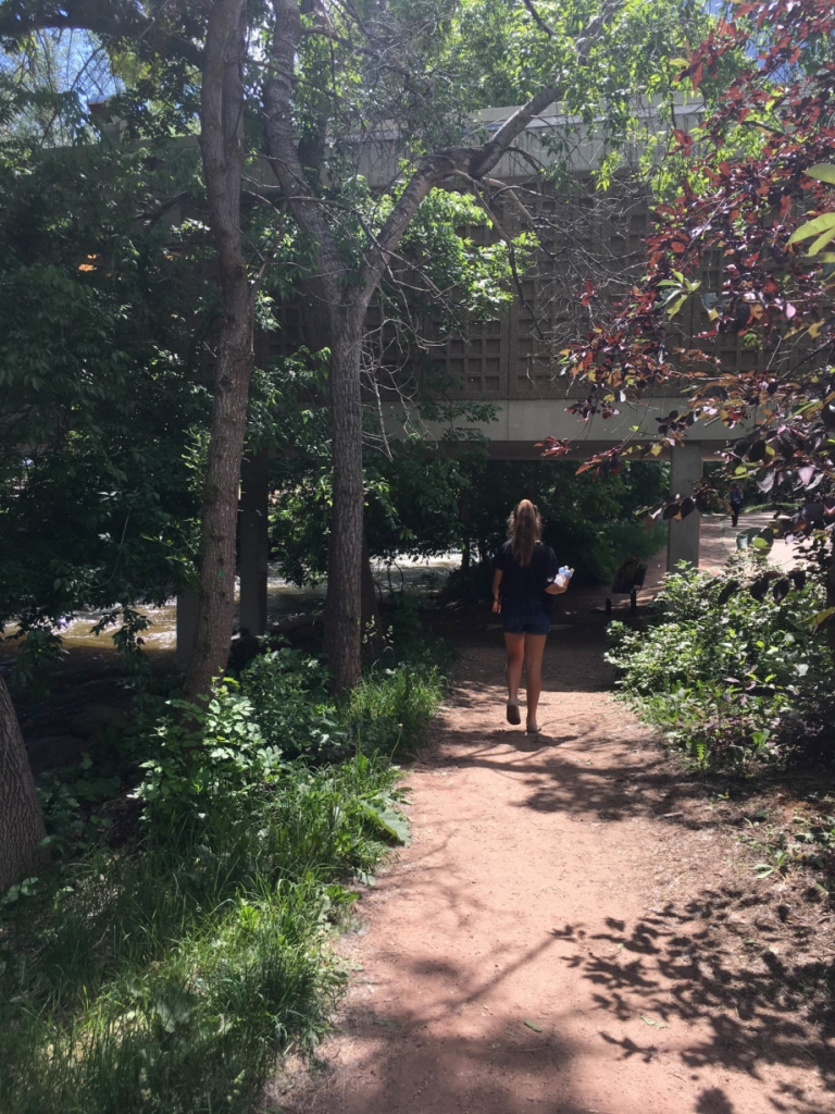 Boulder Creek Path Boulder Colorado | Umami Girl