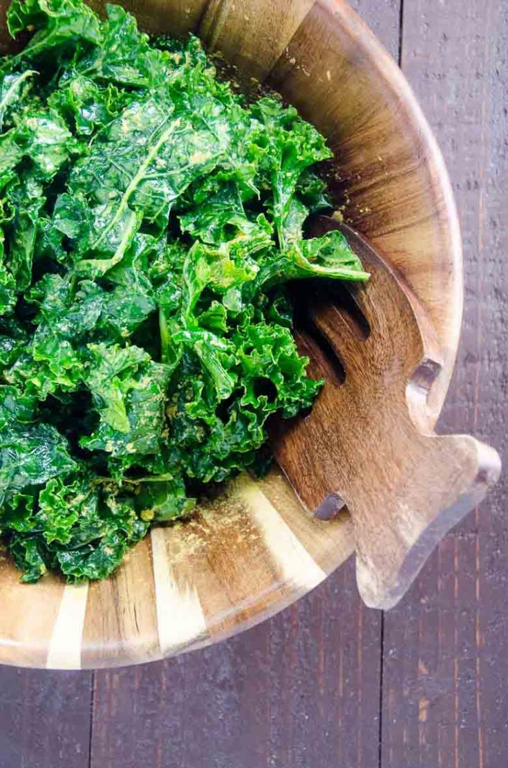 Simple Massaged Kale Salad