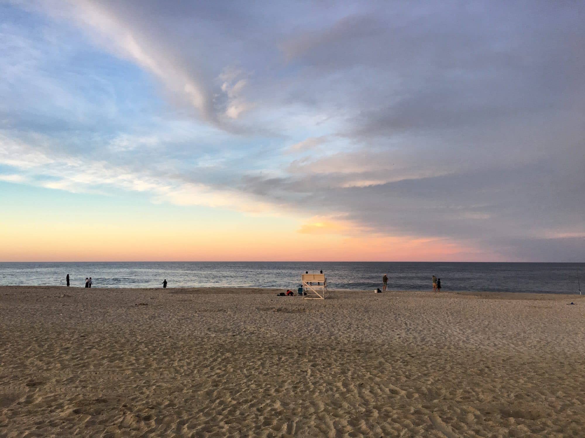 Sea Bright NJ Sunset   Umami Girl