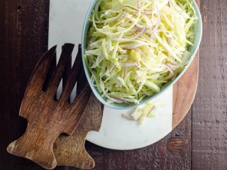 Simple Coleslaw from Alice Waters