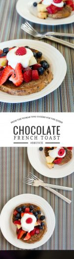 Chocolate French Toast Recipe | Umami Girl
