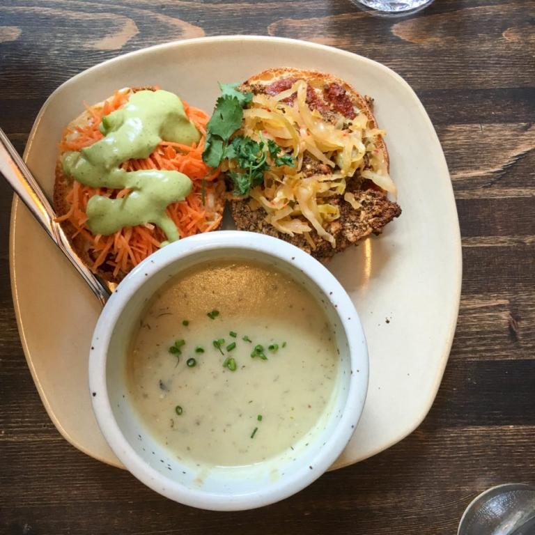 The Coup Vegetarian Restaurant Calgary | Umami Girl