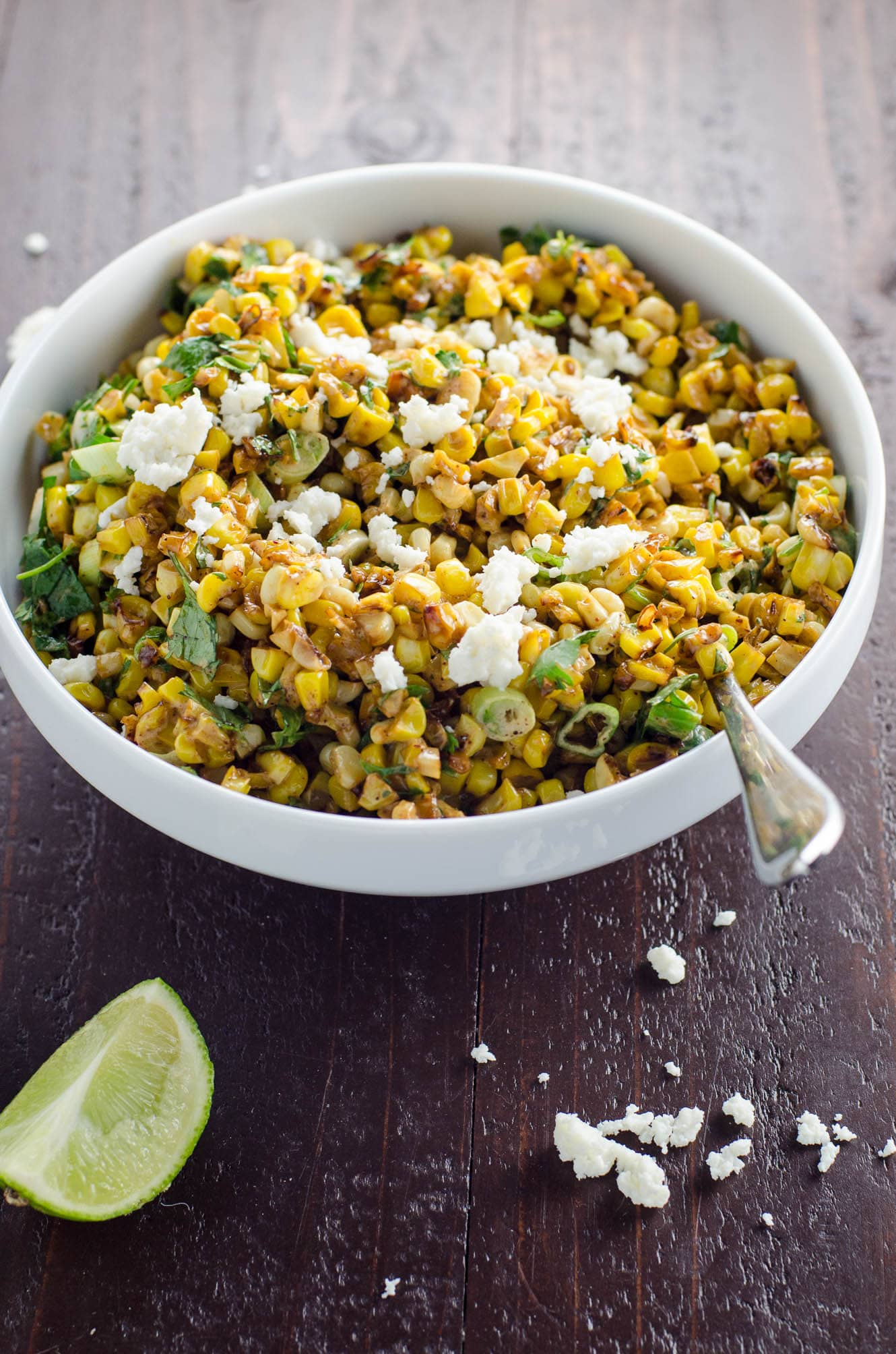 Mexican Street Corn Salad (Esquites) | Umami Girl