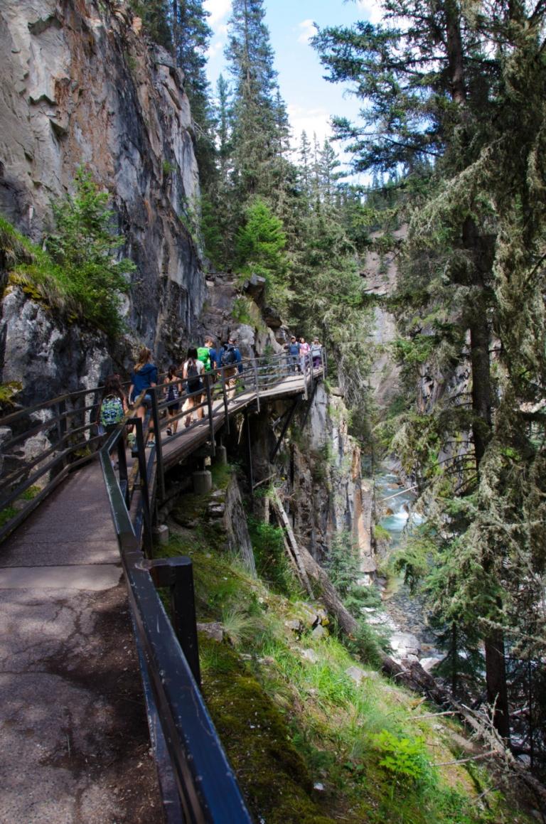 Johnston Canyon Hike and The Inkpots Banff National Park | Umami Girl