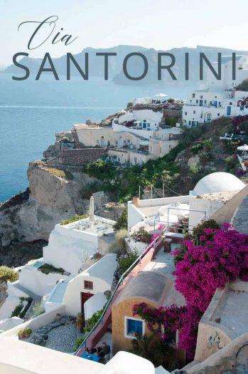 Visit Oia Santorini Greece _ Umami Girl PIN