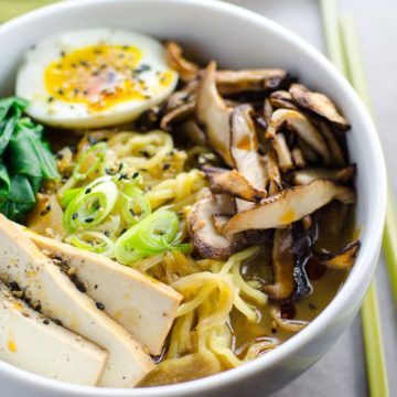 Easy Vegetarian Ramen | Umami Girl