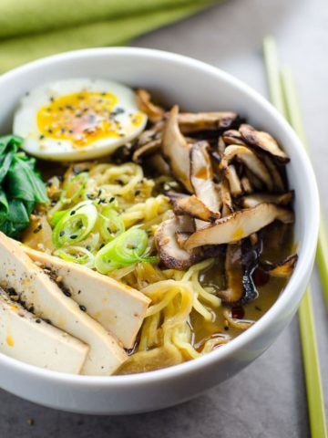 Easy Vegetarian Ramen | Umami Girl