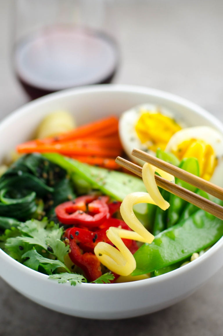 30 Minute Miso Ramen with Potato Noodles | Umami Girl