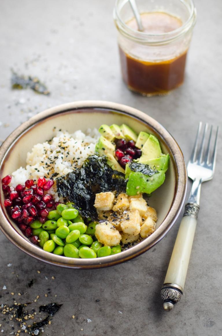 Roxane's 20 Minute Vegan Sushi Bowls | Umami Girl