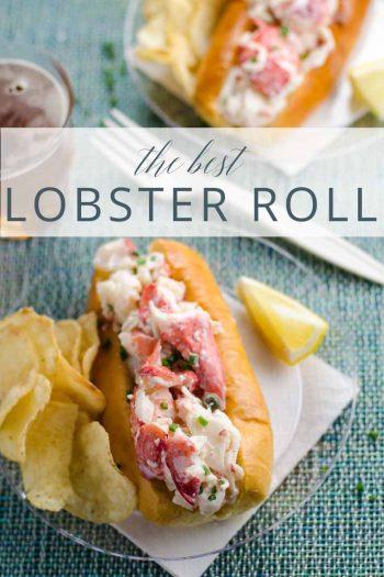 Best Lobster Roll Recipe _ Umami Girl PIN