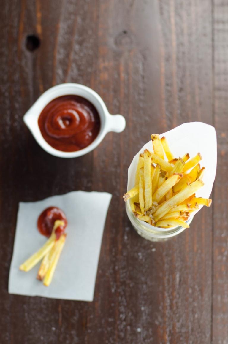 Yukon Gold Baked French Fries | Umami Girl