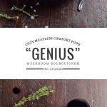 Genuis Mushroom Bourguignon | Umami Girl