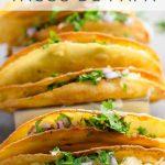 Crispy Potato Tacos de Papa _ Umami Girl PIN