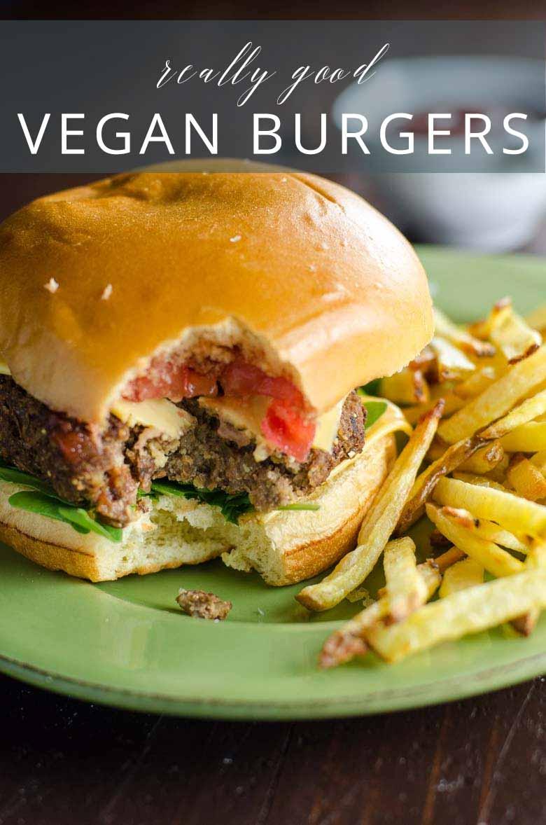 Really Good Veggie Burgers Vegan Gluten Free _ Umami Girl PIN