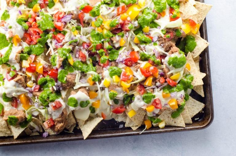 Easy Vegetarian Nachos Recipe | Umami Girl