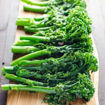 Broccolini with Gremolata | Umami Girl