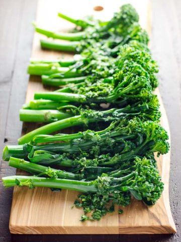 Broccolini with Gremolata | Umami Girl