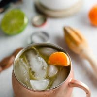 Clementine Moscow Mules Cocktail Recipe