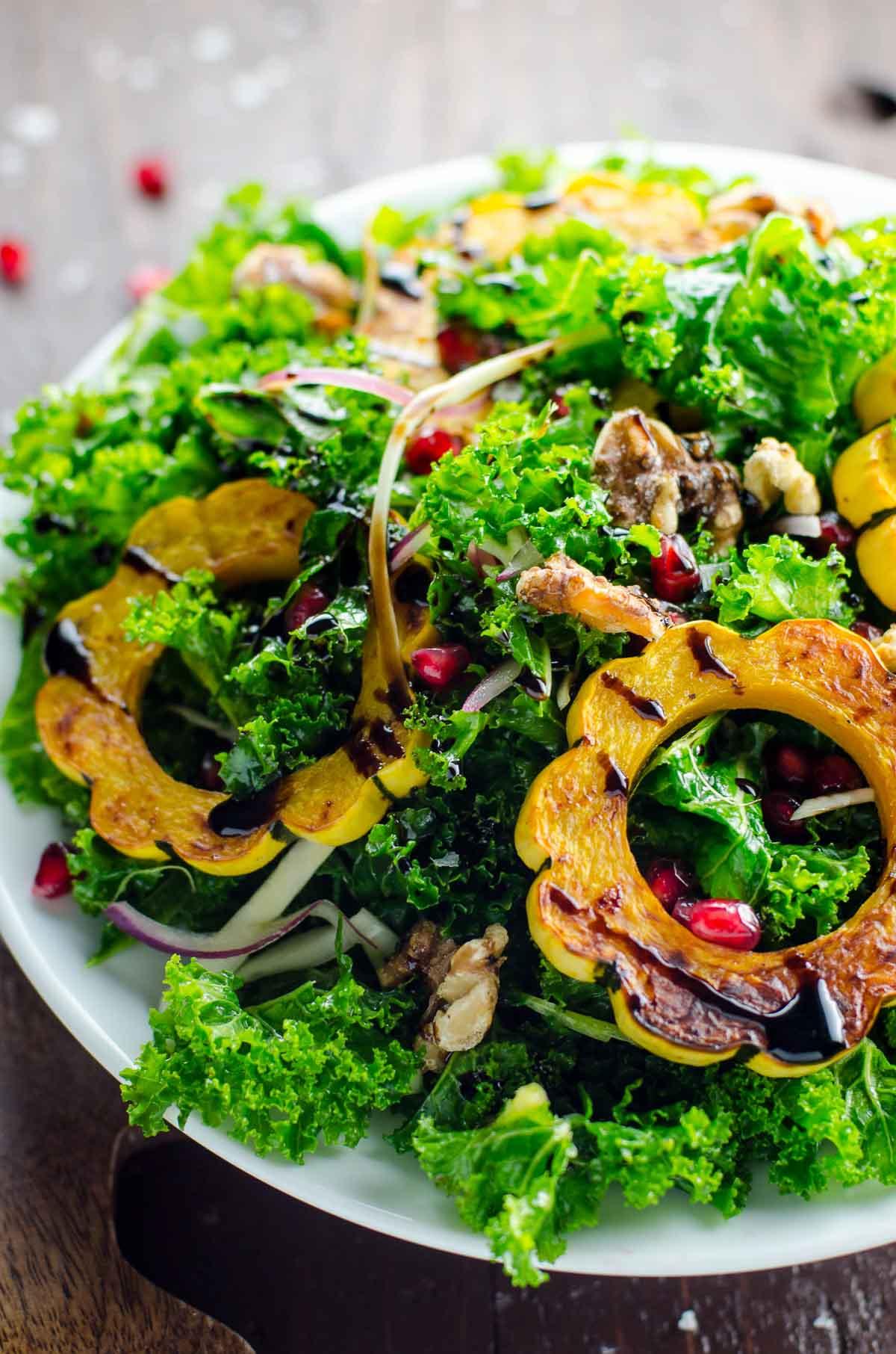 harvest kale salad  for Top 10 Thanksgiving Sides