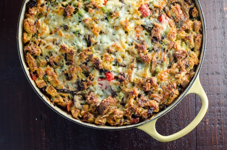 recipe: breakfast casserole with stuffing [19]
