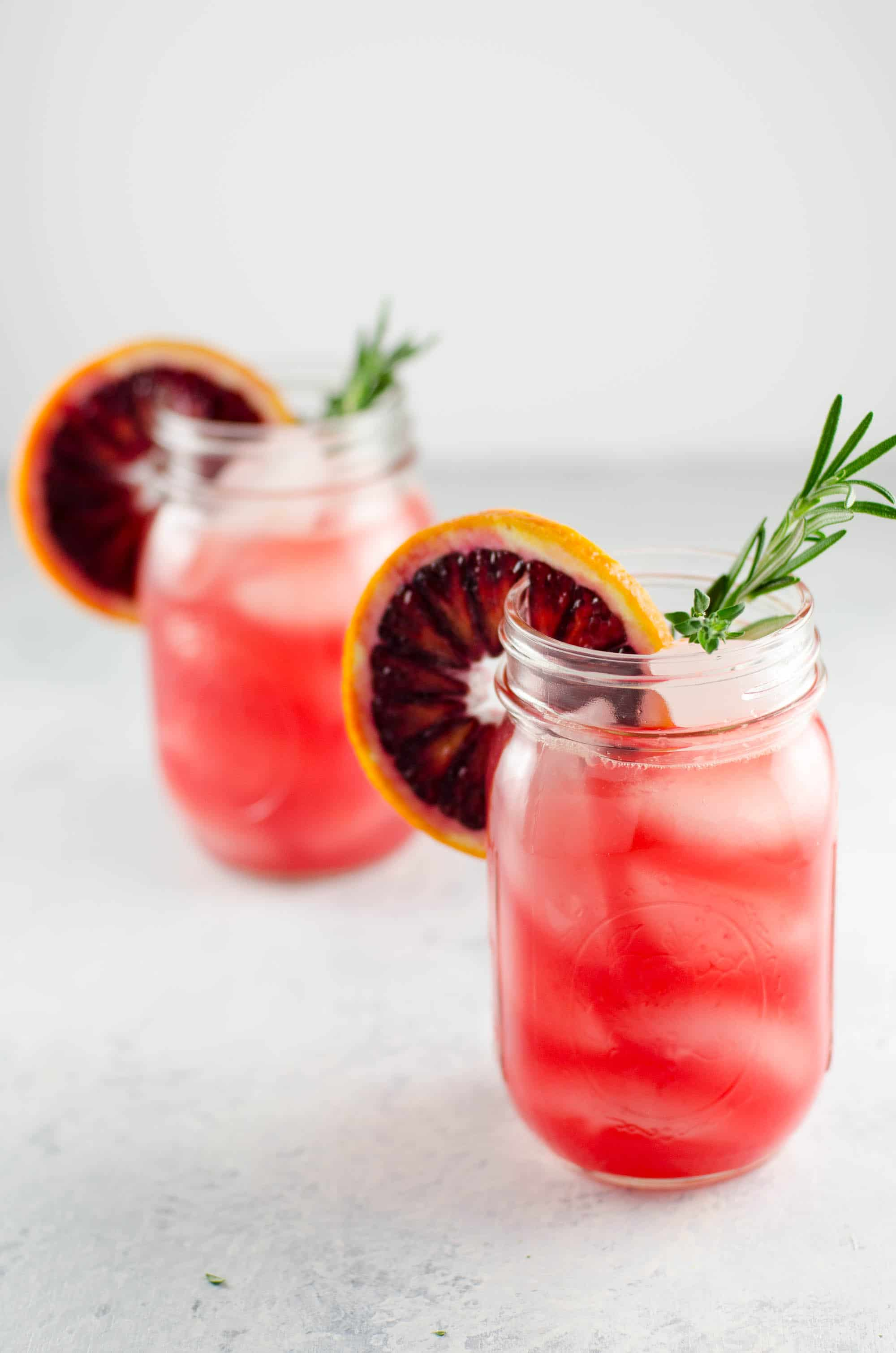 Blood Orange Grapefruit Cocktail with Winter Herbs | Umami Girl - A ...