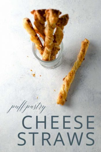 Cheese Straws Recipe with Puff Pastry and Cheddar _ Umami Girl PIN