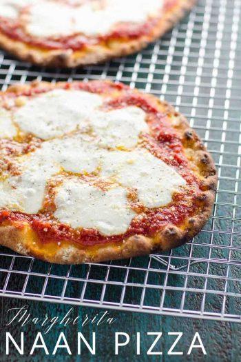 Naan Pizza Margherita _ Umami Girl PIN