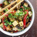 Napa Cabbage Stir Fry with Salt and Pepper Tofu _ Umami Girl PIN