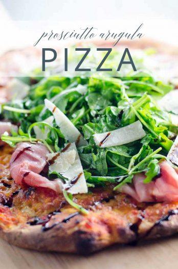 Prosciutto Arugula Pizza _ Umami Girl PIN