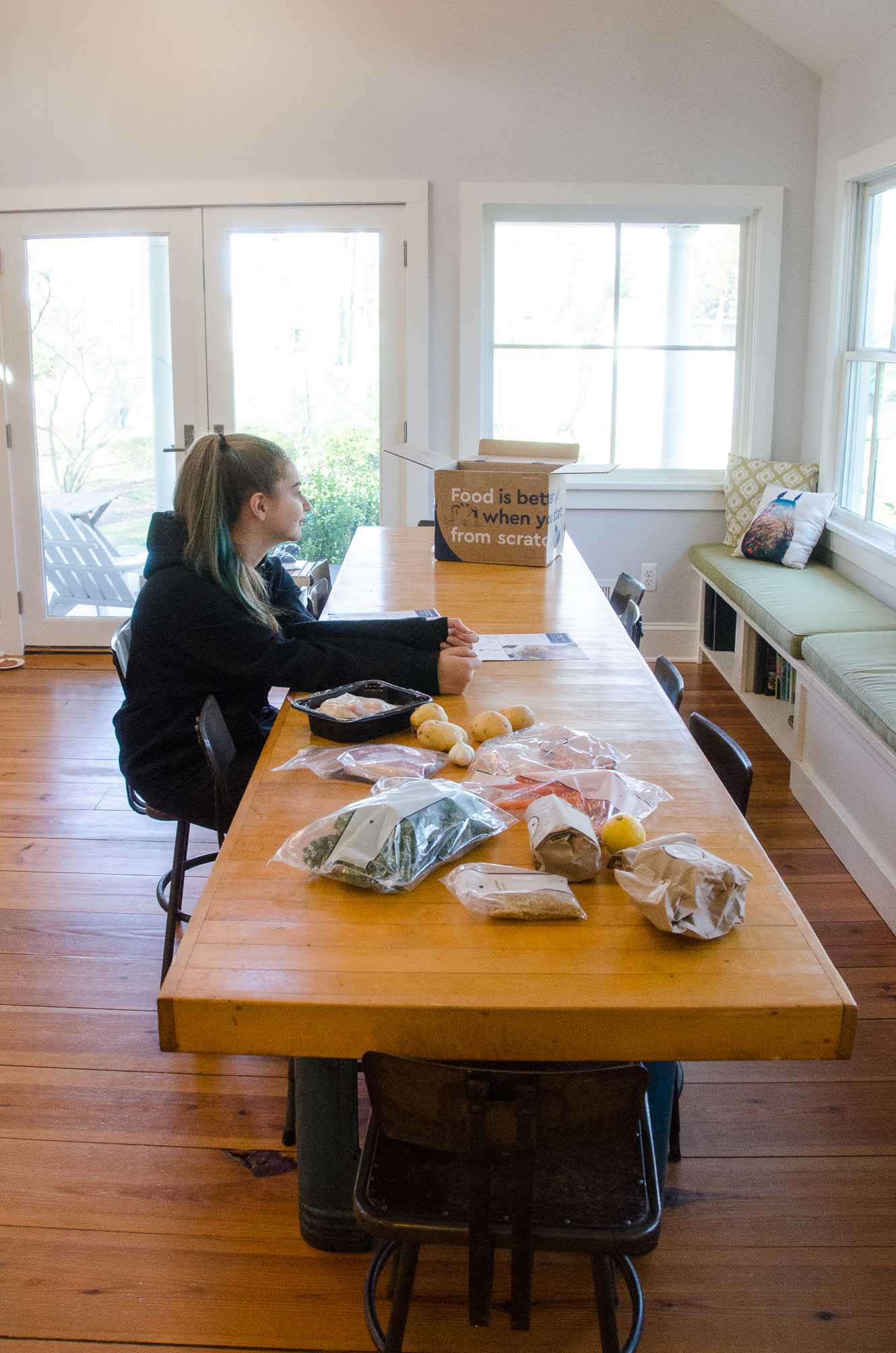 Blue Apron Delivery and Unboxing | Umami Girl