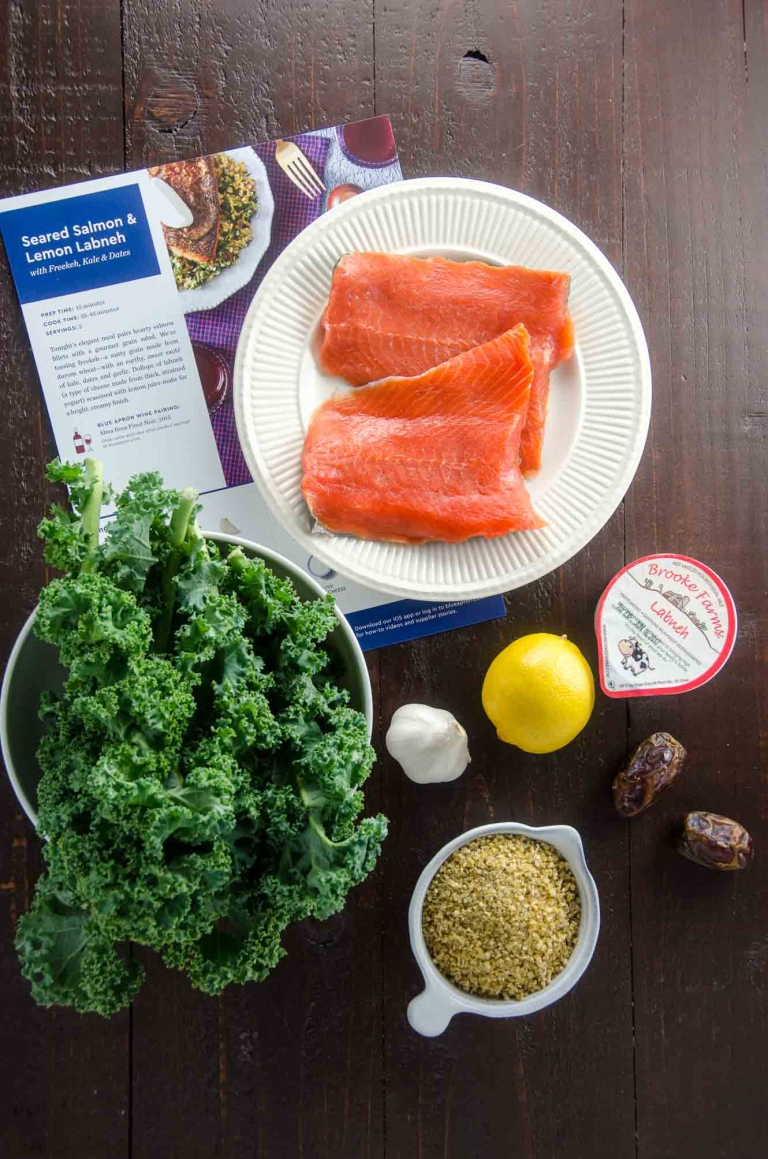 Blue Apron Ingredients | Umami Girl