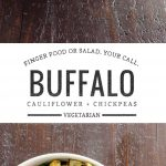 Buffalo Cauliflower and Roasted Chickpeas   Umami Girl