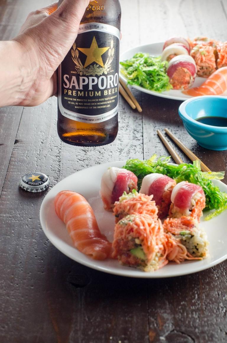 International Sushi Day with Sapporo | Umami Girl