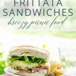 Frittata Sandwiches Picnic Idea _ Umami Girl PIN