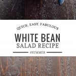 Easy White Bean Salad Recipe