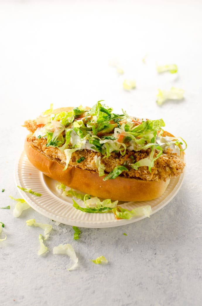 Crispy chicken sandwich recipe
