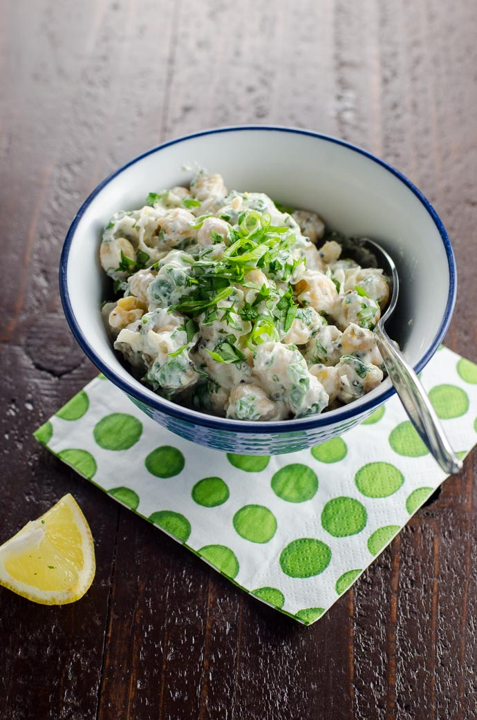 Chickpea Salad Recipe with Indian Spices   Umami Girl
