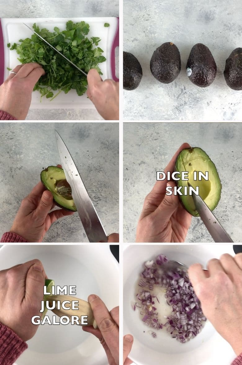 The Best Guacamole Recipe Process 1 _ Umami Gi