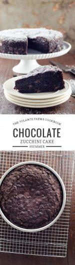 Volante Farms Chocolate Zucchini Cake and Cookbook   Umami Girl