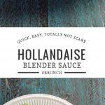 asparagus with blender hollandaise