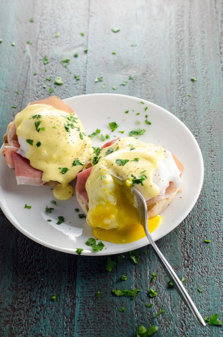 Prosciutto Eggs Benedict with Blender Hollandaise Sauce   Umami Girl