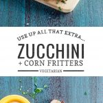 Zucchini Corn Fritters | Umami Girl