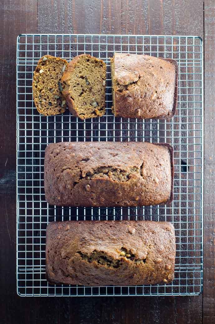 Easy Pumpkin Bread Recipe with Olive Oil | Umami Girl